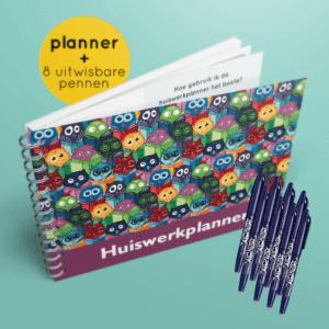 Uitljes design + 8 pennen